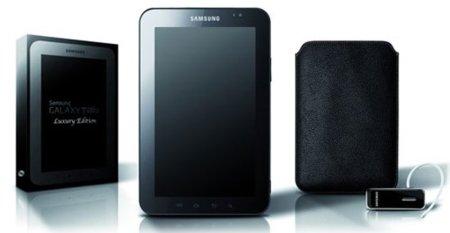 Samsung Galaxy Tab tendrá una versión de lujo
