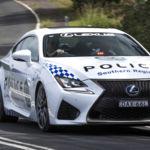 Así se las gastan en Australia: Lexus RC F para la policía