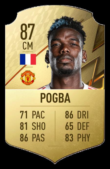Pogba FIFA 22