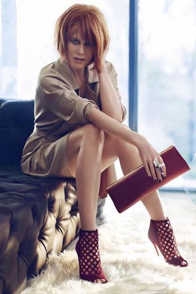 La nueva Nicole Kidman para Jimmy Choo, una mujer fuerte y sexy que controla su vida