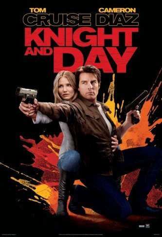 'Noche y día' ('Knight & Day'), Tom Cruise y Cameron Diaz en el peor cartel del año