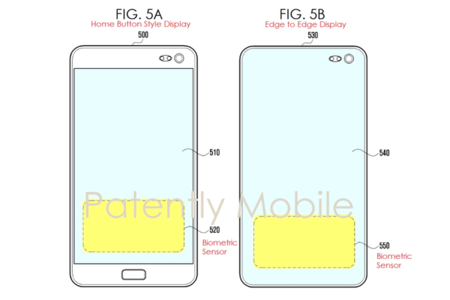Samsung patenta el lector de huellas ultrasónico que se ocultará tras la pantalla del Galaxy S10