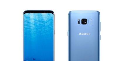 Galaxy S8 y S8+ en azul coral: ya disponibles en España
