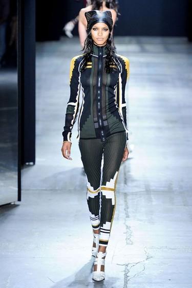 Alexander Wang Primavera-Verano 2012 en la Semana de la Moda de Nueva York: más deporte futurista