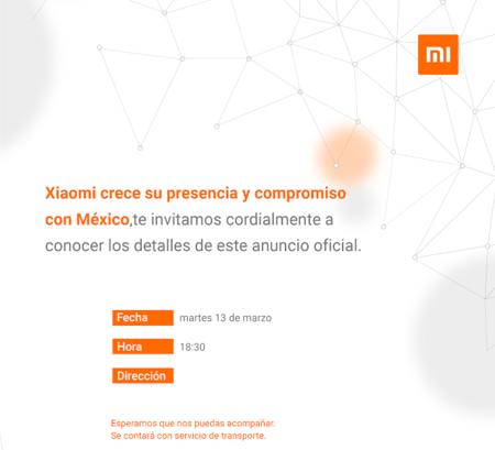 Xiaomi Evento Mexico Marzo 2018