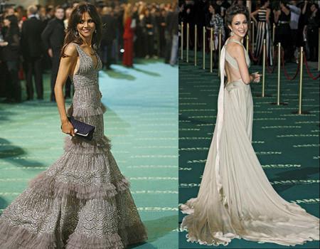 La alfombra verde de los Goya 2008 II