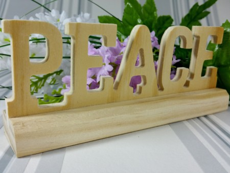 Hoy y siempre, decorando por la paz con estos 22 detalles