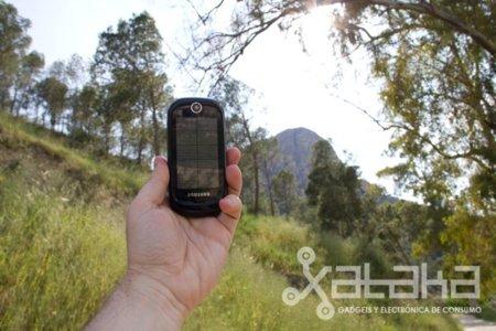 Samsung Blue Earth, teléfono móvil solar que funciona