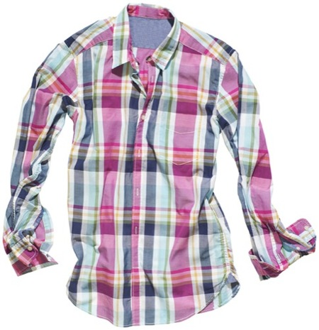HM nos muestra un anticipo de la moda Primavera-Verano 2010, , camisa leñador