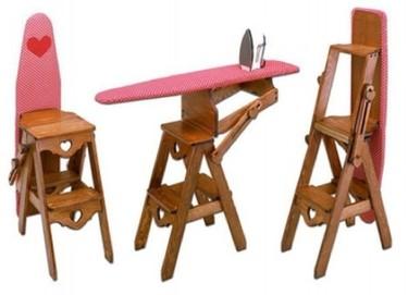 Una tabla de planchar práctica y muy amorosa