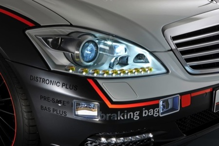 Mercedes ESF Concept: todos los sistemas de seguridad al detalle (III)