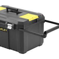 No te hernies cargando herramientas gracias a esta  caja de herramientas con ruedas Stanley: ahora 30,93 euros en Amazon