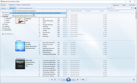 Windows Media Player Trasmision