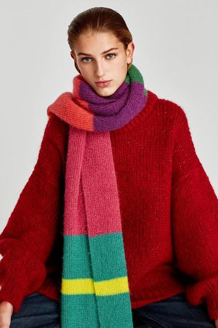 Zara Bufanda Colores