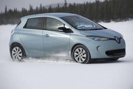 Renault Zoe contra el frío extremo