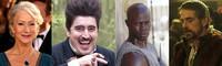 Helen Mirren, Alfred Molina, Djimon Hounsou y Jeremy Irons en 'The Tempest'