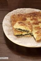 Costrada de espinacas y queso feta. Receta con Thermomix