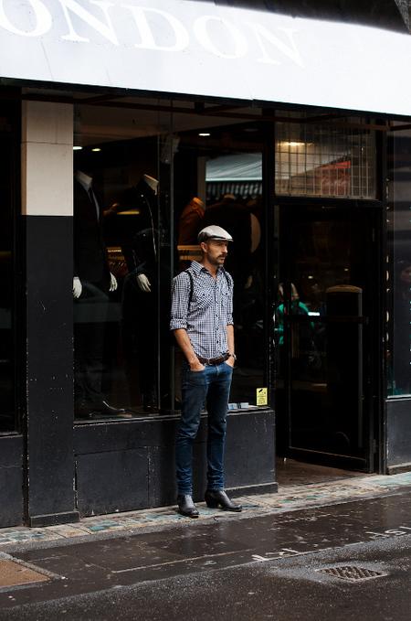 Men Boots street style