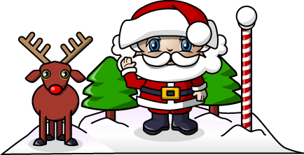 Habla con Papá Noel desde el Messenger