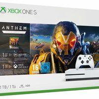Consola Microsoft Xbox One S de 1TB + Anthem: Legión Del Alba a su precio mínimo en Amazon: 189,95 euros