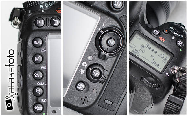 Nikon D600 detalles