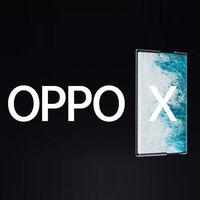 OPPO X 2021 es el primer móvil enrollable de la casa, con pantalla que va de las 6,7 a las 7,4 pulgadas