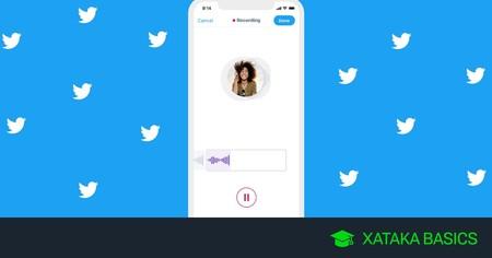 Cómo crear y enviar notas de voz en Twitter