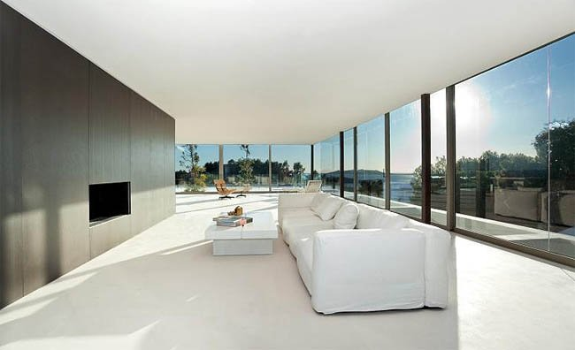 Casas de lujo en espa a un sal n ibicenco - Salones de lujo ...