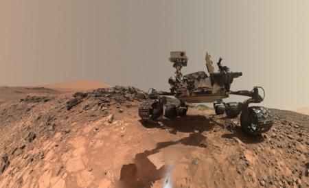 Volcanes Marte