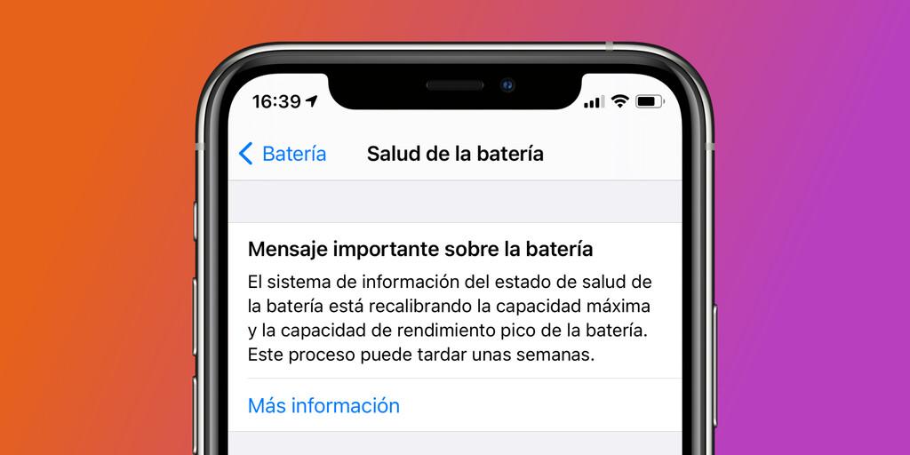 Qué es la recalibración de la batería de iOS™ 14.5 y qué representa para nuestros iPhone