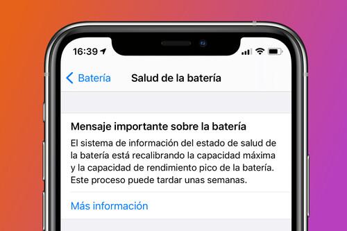 Qué es la recalibración de la batería de iOS 14.5 y qué representa para nuestros iPhone