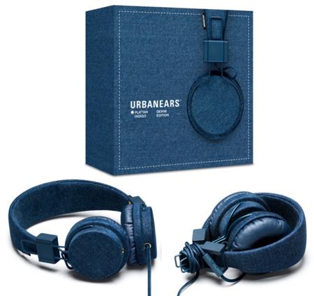 Urbanears lanza los primeros auriculares denim
