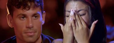 """Diego, al borde de la ruptura con Lola tras la primera hoguera de 'La Isla de las Tentaciones 3': """"El perro está a mi nombre y se viene conmigo"""""""