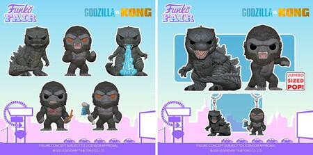 Figuras Funko POP de Godzilla vs Kong en preventa en Amazon México