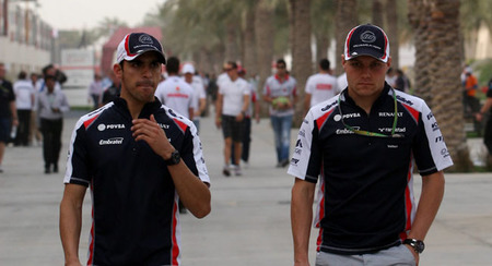Williams confirma a Pastor Maldonado y Valtteri Bottas para 2013