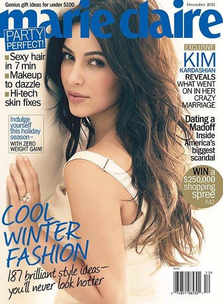 Kim Kardashian abre su boquita de piñón...ya estaba tardando