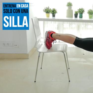Entrena en casa solo con una silla: un circuito para trabajar todo tu cuerpo