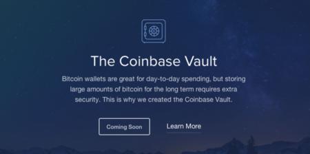 Con Vault, Coinbase se apunta al almacenamiento de grandes cantidades de bitcoins
