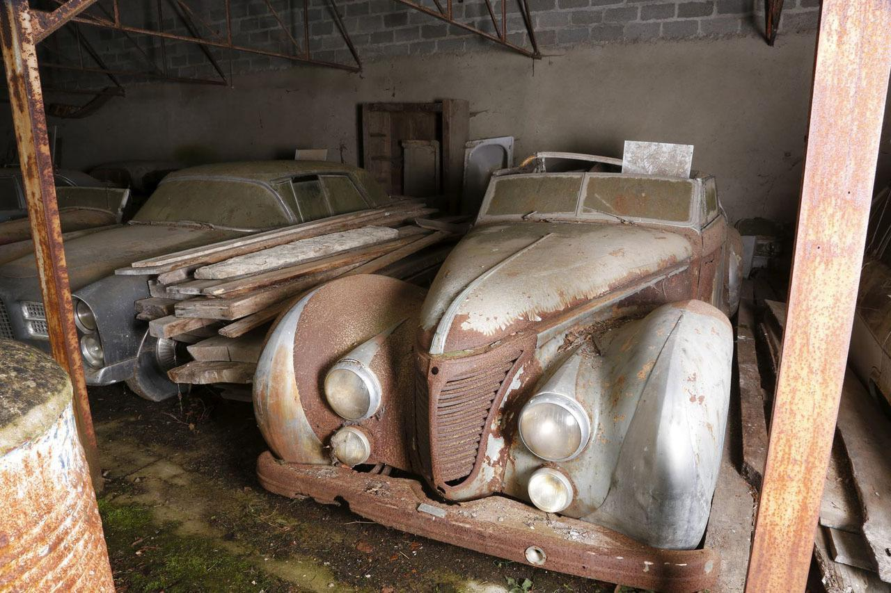Descubren más de 100 clásicos en un granero francés