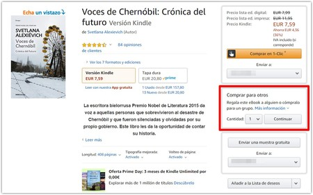 Voces De Chernobil Cronica Del Futuro Ebook Svetlana Alexievich Amazon Es Tienda Kindle Google Chrome 2019 07 29 15 37 11