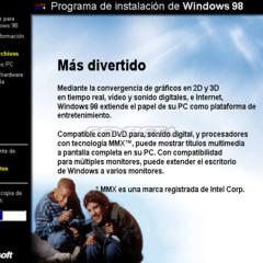 Foto 6 de 10 de la galería programa-de-instalacion-de-windows-98 en Genbeta