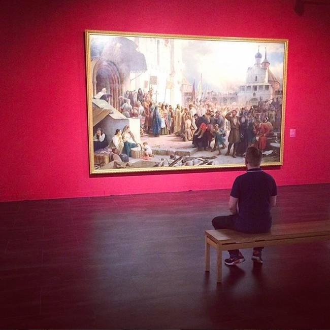Visita al Museo Ruso Colección Málaga