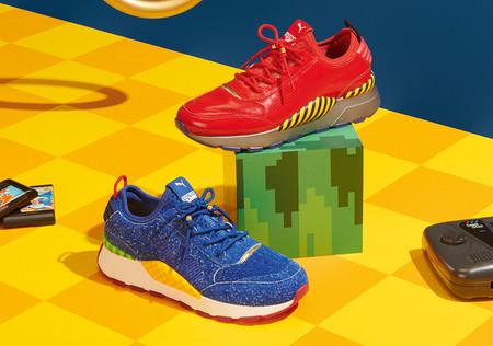 Las deportivas de Sonic estarán disponibles el 5 de junio... ¡junto a estas del Dr. Eggman!