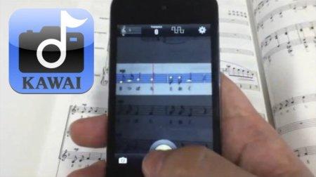 Gakufu Camera, una app para escanear partituras y tocarlas en tiempo real en iOS