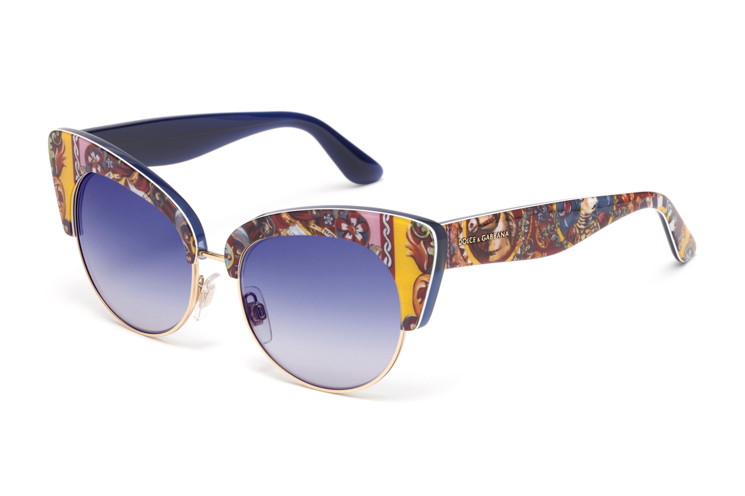 Foto de Gafas de sol Dolce Gabbana Sicilian Carretto (4/12)