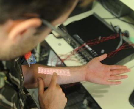 Skinput, Microsoft convierte tu brazo en una pantalla táctil