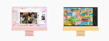 Los 6 + 1 colores del nuevo iMac 2021 que homenajean al iMac original y el logo de Apple
