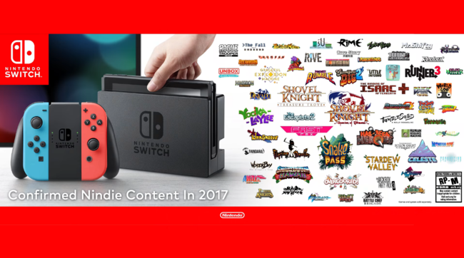 Nintendo Switch Indies