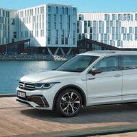 El nuevo Volkswagen Tiguan Allspace estrena frontal, pero se queda sin motores microhíbridos ni híbridos enchufables