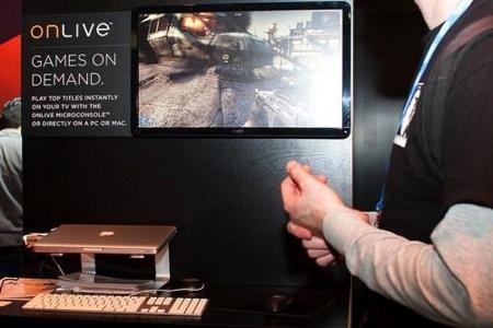 OnLive llegará a los Mac el 17 de Junio de este mismo año